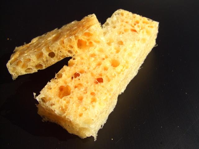 Espuma sólida de queijo/ Cheese Solid Foam